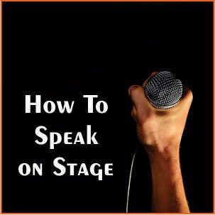 Speak on Stage in Hindi