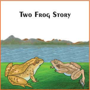 Two Frogs Very Short Stories in Hindi With Moral