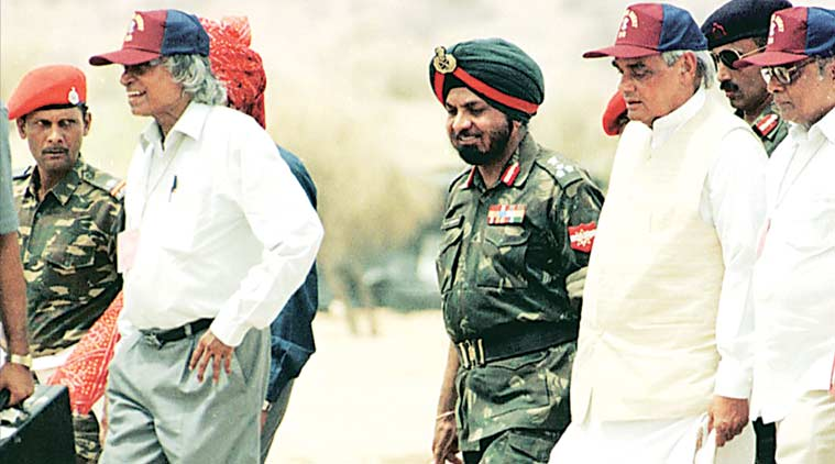 A.P.J. Abdul Kalam with Indian Army