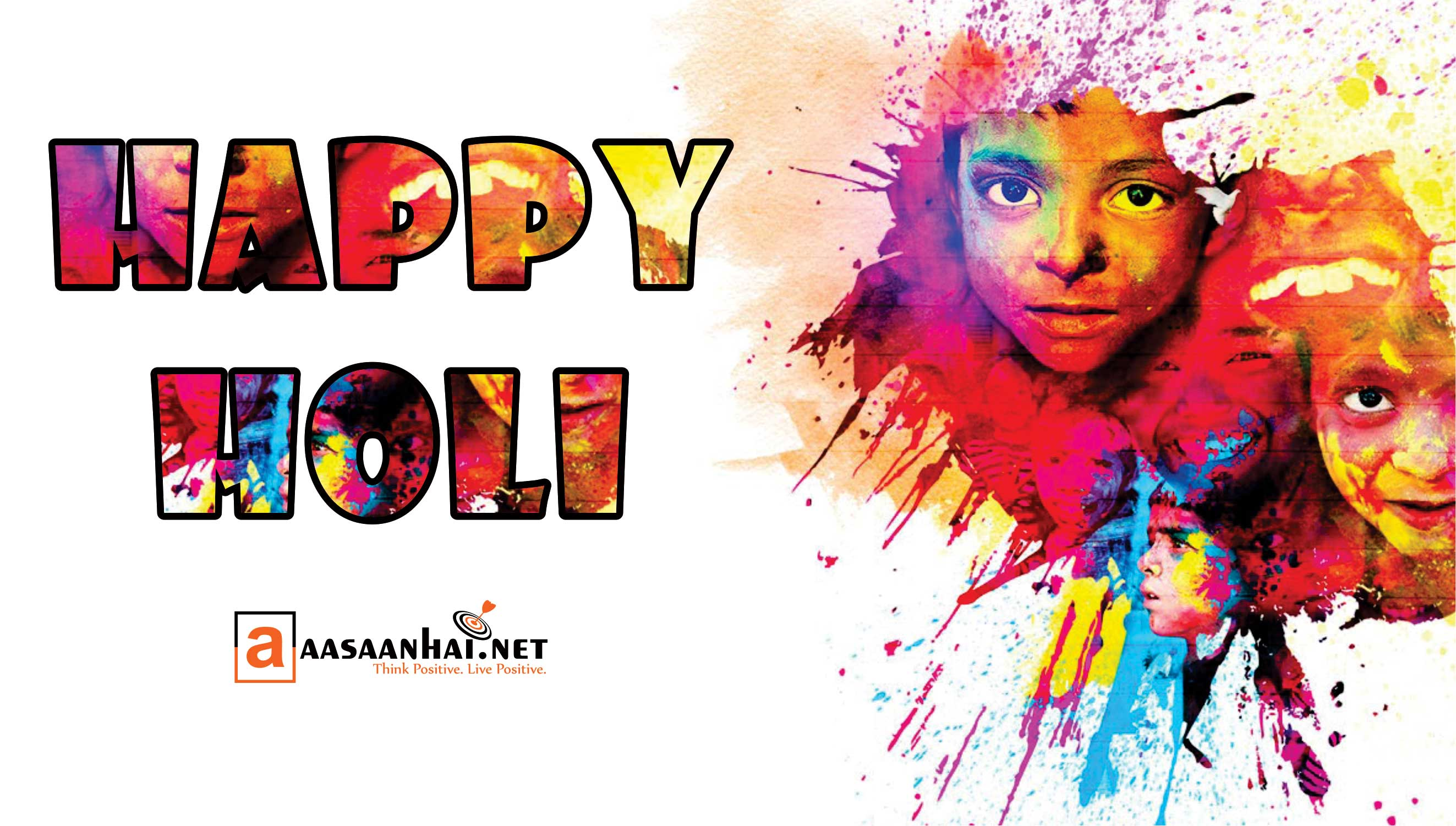 happy holi aasaanhai