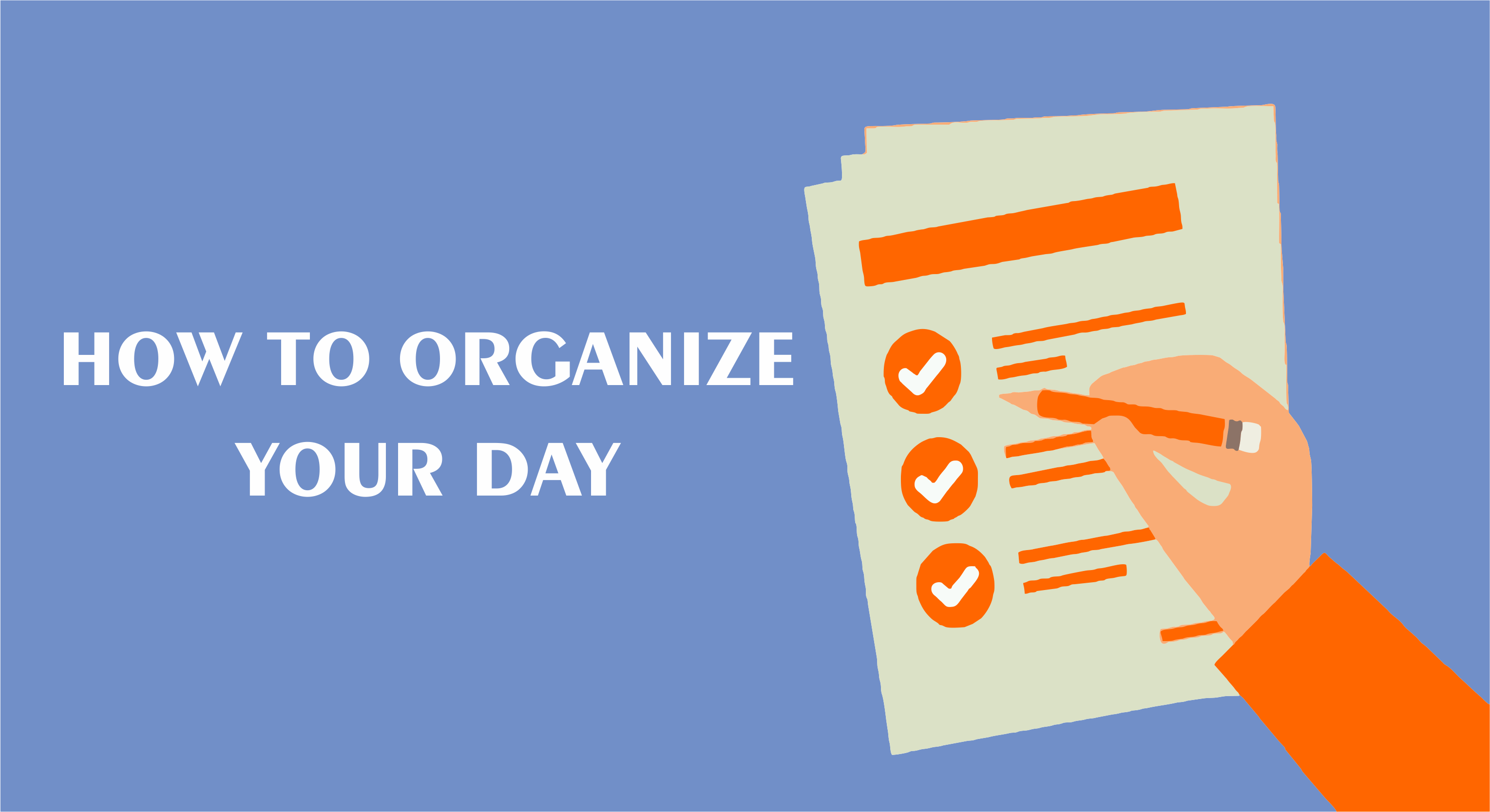 How to Organize Your Day in Hindi
